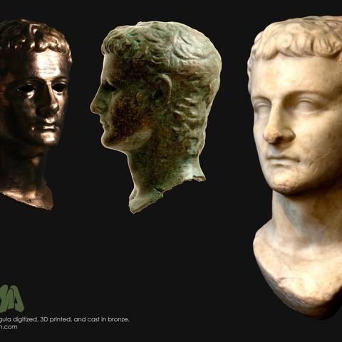 Télécharger fichier STL gratuit Le Getty Caligula, Ghashgar