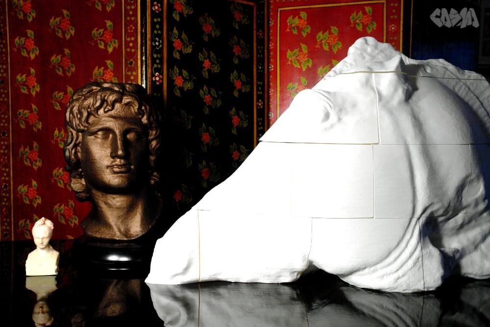 progress_display_large.jpg Télécharger fichier STL gratuit Portrait d'Alexandre le Grand • Modèle pour imprimante 3D, Ghashgar