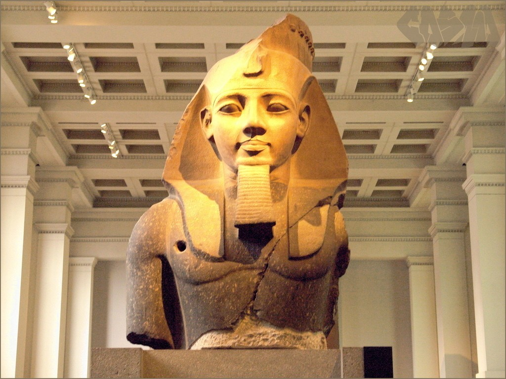RamessesII_Photo_display_large.jpg Download free STL file Colossal bust of Ramesses II / Ozymandias • 3D printer design, Ghashgar