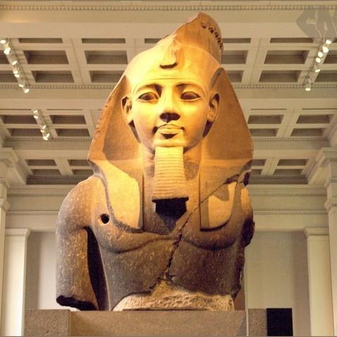 Impresiones 3D gratis Busto colosal de Ramsés II / Ozymandias, Ghashgar