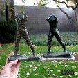 Télécharger fichier imprimante 3D gratuit L'homme qui marche, par Auguste Rodin, Ghashgar