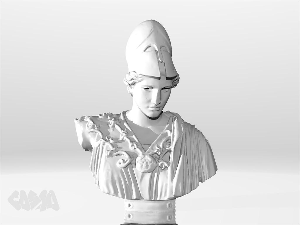 20140709_Athena_Velletri_by_CosmoWenman_display_large.jpg Download free OBJ file Athena of Velletri • Design to 3D print, Ghashgar