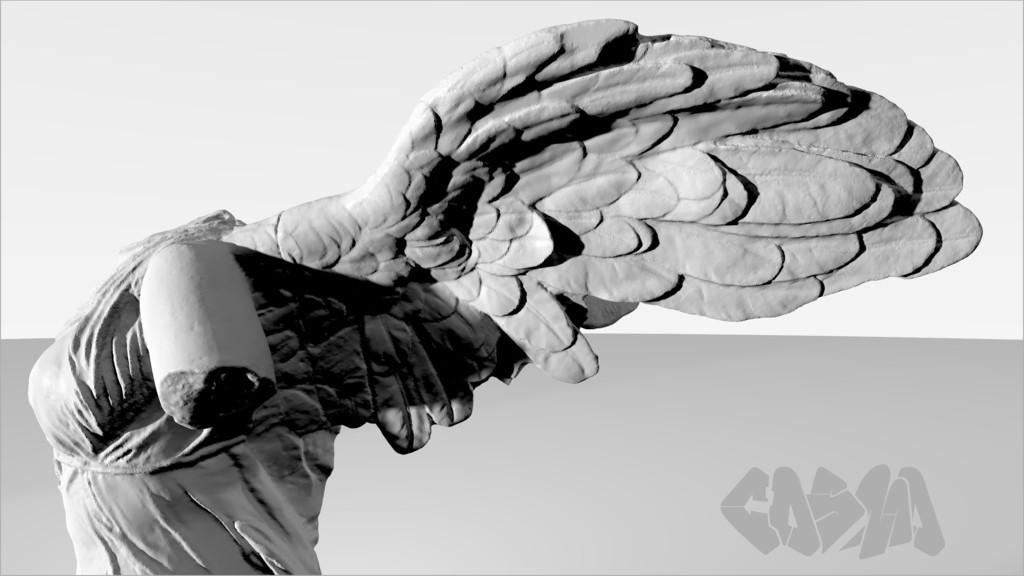20131227WingedVictoryRender_CosmoWenman_display_large.jpg Download free OBJ file Winged Victory of Samothrace • 3D printable object, Ghashgar