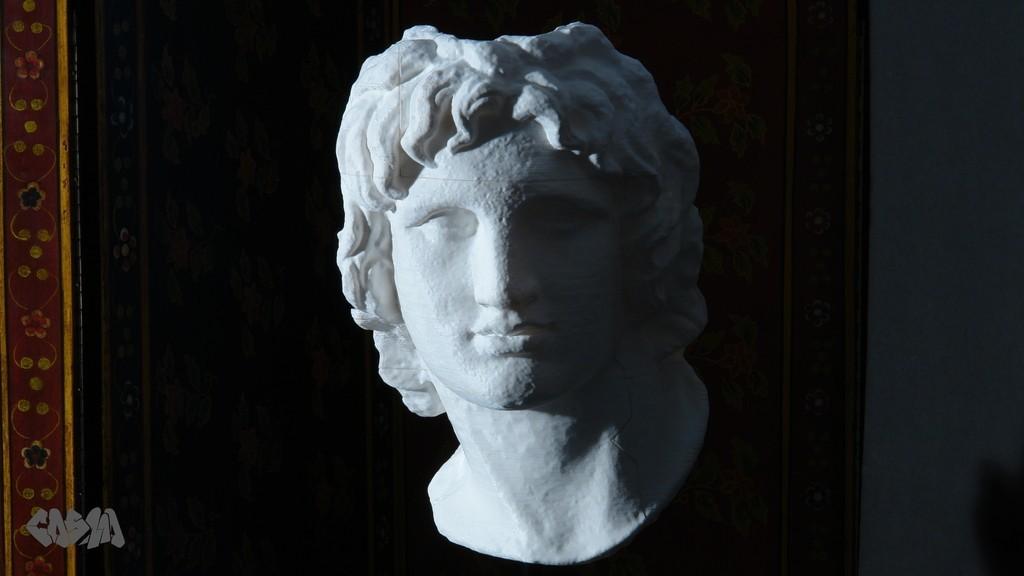 AtG1_display_large.jpg Télécharger fichier STL gratuit Portrait d'Alexandre le Grand • Modèle pour imprimante 3D, Ghashgar