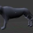 3D printing model Lion Model, NarutoTheBoss