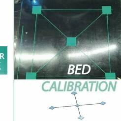 Sin título-2 .jpg Télécharger fichier STL gratuit CALIBRACION DE CAMA / CALIBRAGE DU LIT • Objet pour imprimante 3D, DOER_3D