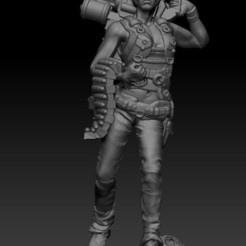 TERMIATOR GIRL.jpg Download STL file TERMIATOR GIRL • Design to 3D print, johndavisjr248