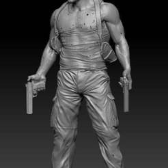 bruce_no_2.jpg Download free STL file Bruce Willis • 3D printing object, johndavisjr248