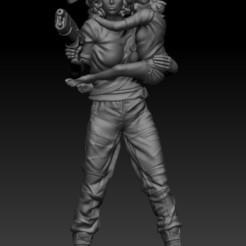 RIPLEY ALIEN.jpg Download STL file RIPLEY ALIEN • 3D printing model, johndavisjr248