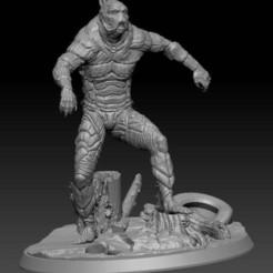 lagoon_monster___.jpg Download free STL file Lagoon Monster • Model to 3D print, johndavisjr248