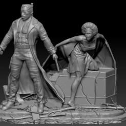 blade diorama.jpg Download STL file blade diorama • Design to 3D print, johndavisjr248
