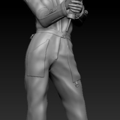 WELDER GIRL.jpg Download free STL file Welder Girl • 3D printer model, johndavisjr248