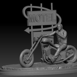 solid model pic 1.jpg Download STL file Danny Trejo • Template to 3D print, johndavisjr248