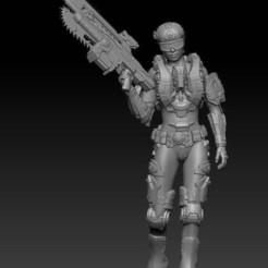 female_soldier.jpg Download free STL file Female Soldier • 3D print model, johndavisjr248