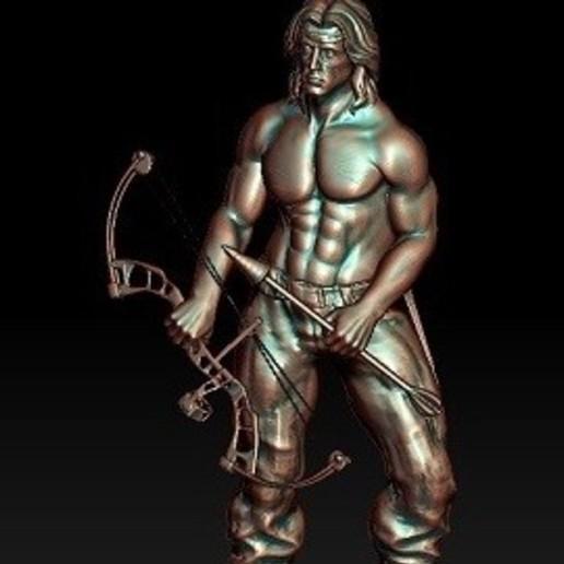 Télécharger fichier imprimante 3D gratuit Rambo, johndavisjr248