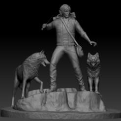 Daryl Dixon.jpg Télécharger fichier STL Daryl Dixon • Objet imprimable en 3D, johndavisjr248