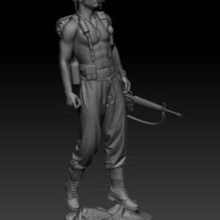 VIETNAM_SOLDIER_R.jpg Download free STL file VIETNAM SOLDIER • Template to 3D print, johndavisjr248