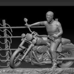 Untitled_.jpg Download free STL file steve mcqueen  Great Escape SLA Only • 3D printing design, johndavisjr248