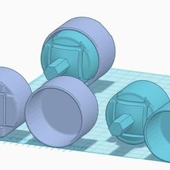 Download free STL file paint mixer v2 • 3D printer model, psykotron69