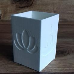 Download free 3D printing designs zen candle jar, psykotron69