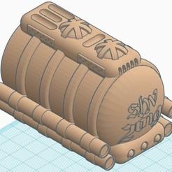 demi citerne arrière.jpg Download STL file antigravity tank • Model to 3D print, psykotron69
