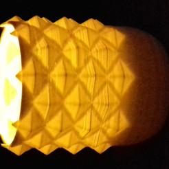 Télécharger fichier 3D gratuit photophore ananas, psykotron69