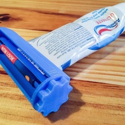 Impresiones 3D gratis tubo de pasta de dientes, LeGeek59