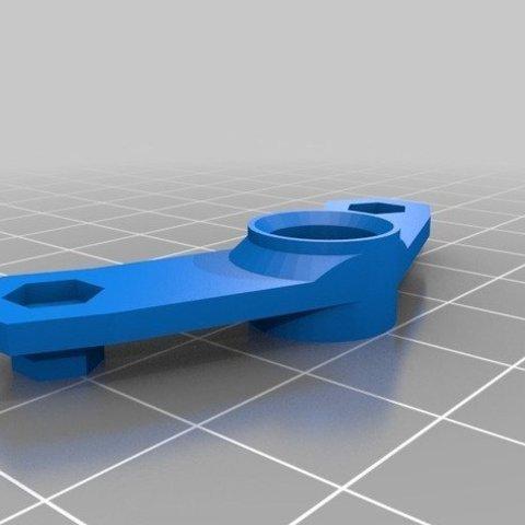 Télécharger fichier imprimante 3D gratuit maintien haut pour la tige filetée pour la discoeasy200, LeGeek59
