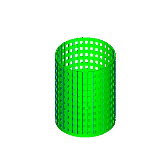 Download free 3D printing designs pencil basket, arcecruz682