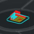 Télécharger fichier STL gratuit Support Aimant pour placard - Magnet Mount for cupboard  • Design à imprimer en 3D, mrklm