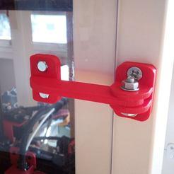 Download STL Long hinge for CNC box / Long hinge for CNC box, mrklm