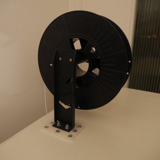 Télécharger STL Support bobine pour Alfawise U30 - Spool Mount for Alfawise U30 , mrklm