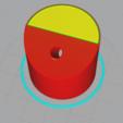 Télécharger STL Support pour bobine de surjeteuse - Mount for surger spool , mrklm