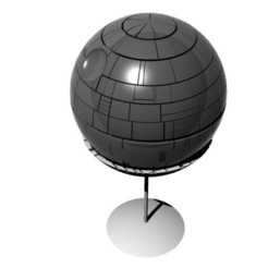 STL file Death Star Model, TheWizard
