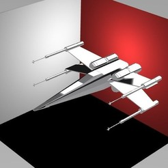 Download 3D printing templates X-wing, TheWizard