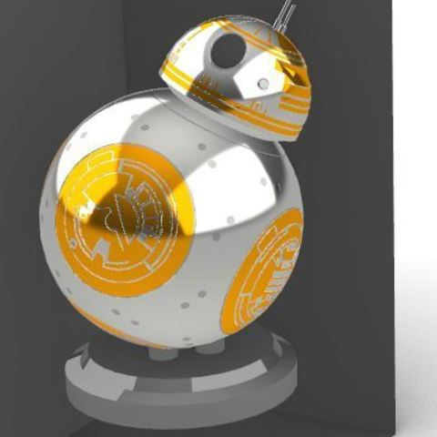 Télécharger plan imprimante 3D BB8, TheWizard