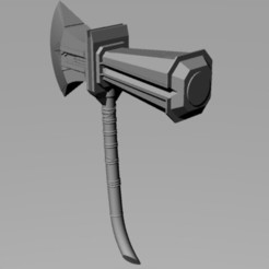 Download STL file Stormbreaker Axe Infinity war, TheWizard