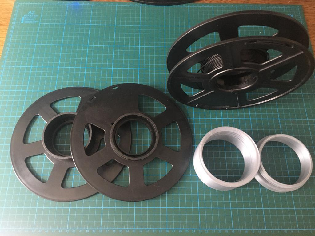 WhatsApp Image 2020-06-12 at 15.21.36.jpeg Download free STL file Recycle Filament Spool Screwed Part  • 3D printer object, mehmet-ylmz