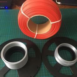 WhatsApp Image 2020-06-12 at 15.21.36 (4).jpeg Download free STL file Recycle Filament Spool Screwed Part  • 3D printer object, mehmet-ylmz