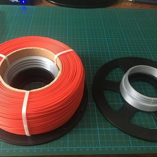 WhatsApp Image 2020-06-12 at 15.21.36 (5).jpeg Download free STL file Recycle Filament Spool Screwed Part  • 3D printer object, mehmet-ylmz
