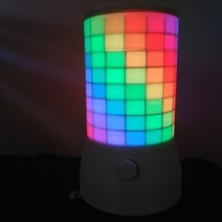Download free 3D printing templates The Animated Pixel Lamp, yvan23460