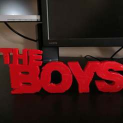 Download free 3D printing models The Boys (easy print), spofff