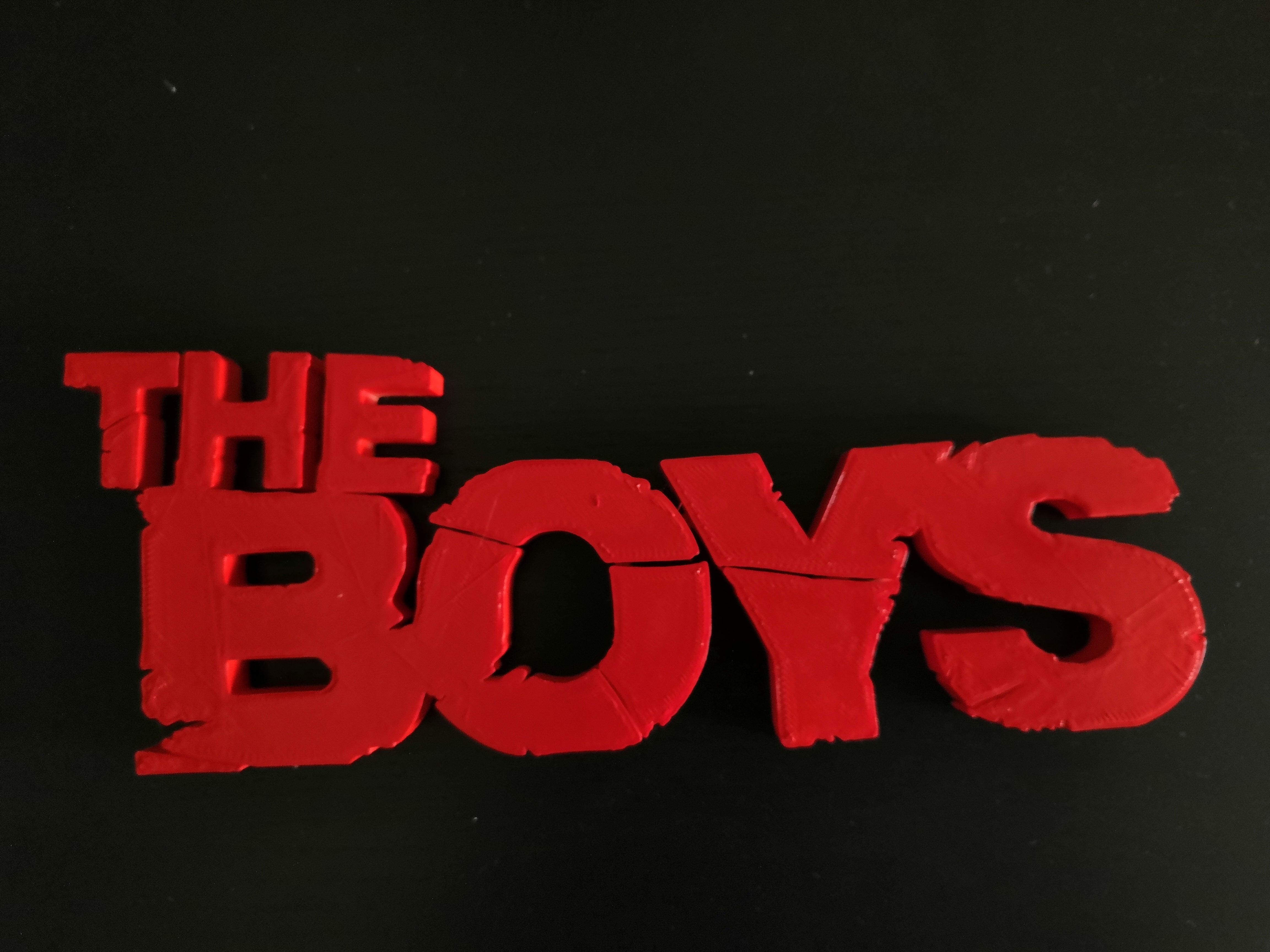 IMG_20190819_144309.jpg Télécharger fichier STL gratuit The Boys (facile à imprimer) • Plan à imprimer en 3D, spofff