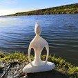 IMG_20190203_134653.jpg Download free STL file Zen / Yoga Sculpture • 3D printer template, spofff