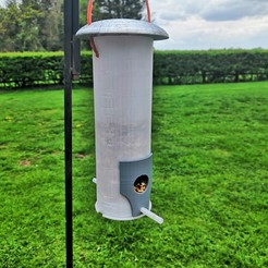 Download free 3D printing templates Bird Feeder, spofff