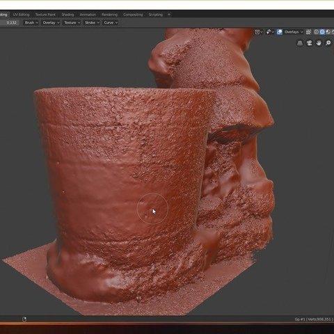 dad827aaae619cfc24525c36e1ad6d0b_display_large.jpg Download free STL file Gnome Planter • 3D print model, spofff