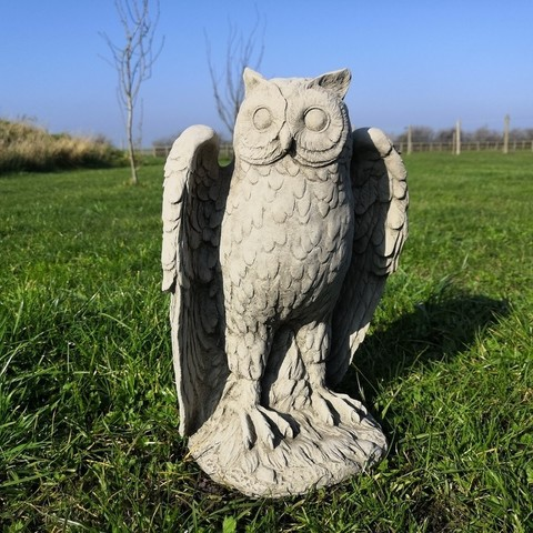 Download free 3D printer model Owl Statue, spofff