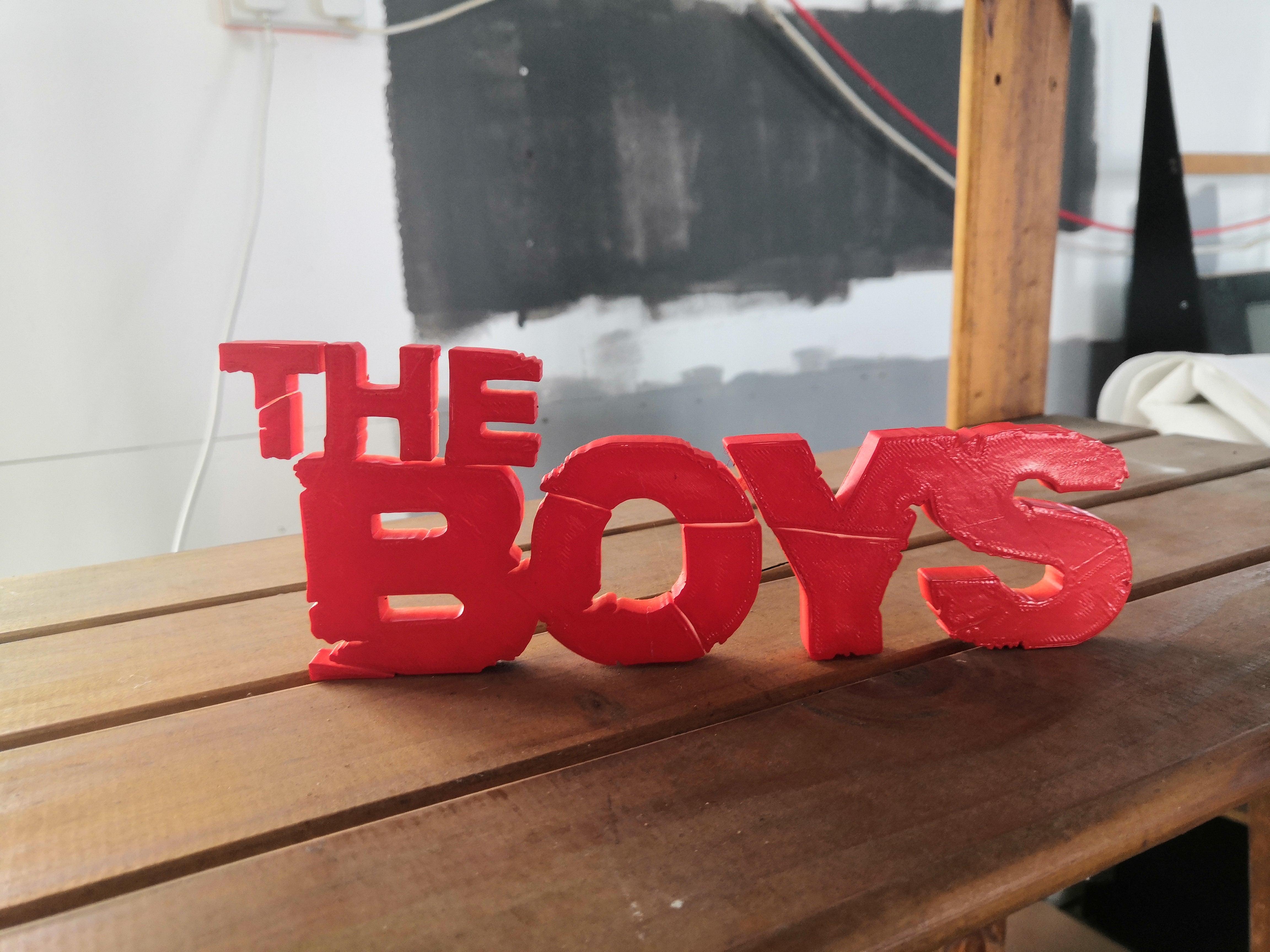 IMG_20190819_140311.jpg Télécharger fichier STL gratuit The Boys (facile à imprimer) • Plan à imprimer en 3D, spofff
