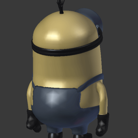Screenshot_4.png Download free OBJ file Minion • 3D printable object, Overchamy
