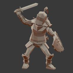 STL Soldier, Medieval, Overchamy